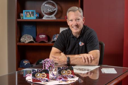 Billy Francis of the Student Veterans Center