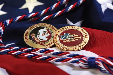 Student Veterans Center Cord and Coin